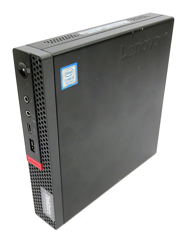 Lenovo ThinkCentre M720q Micro PC:i3-8100T,8GB RAM,256GB SSD+1TB HDD,Win 10  Pro