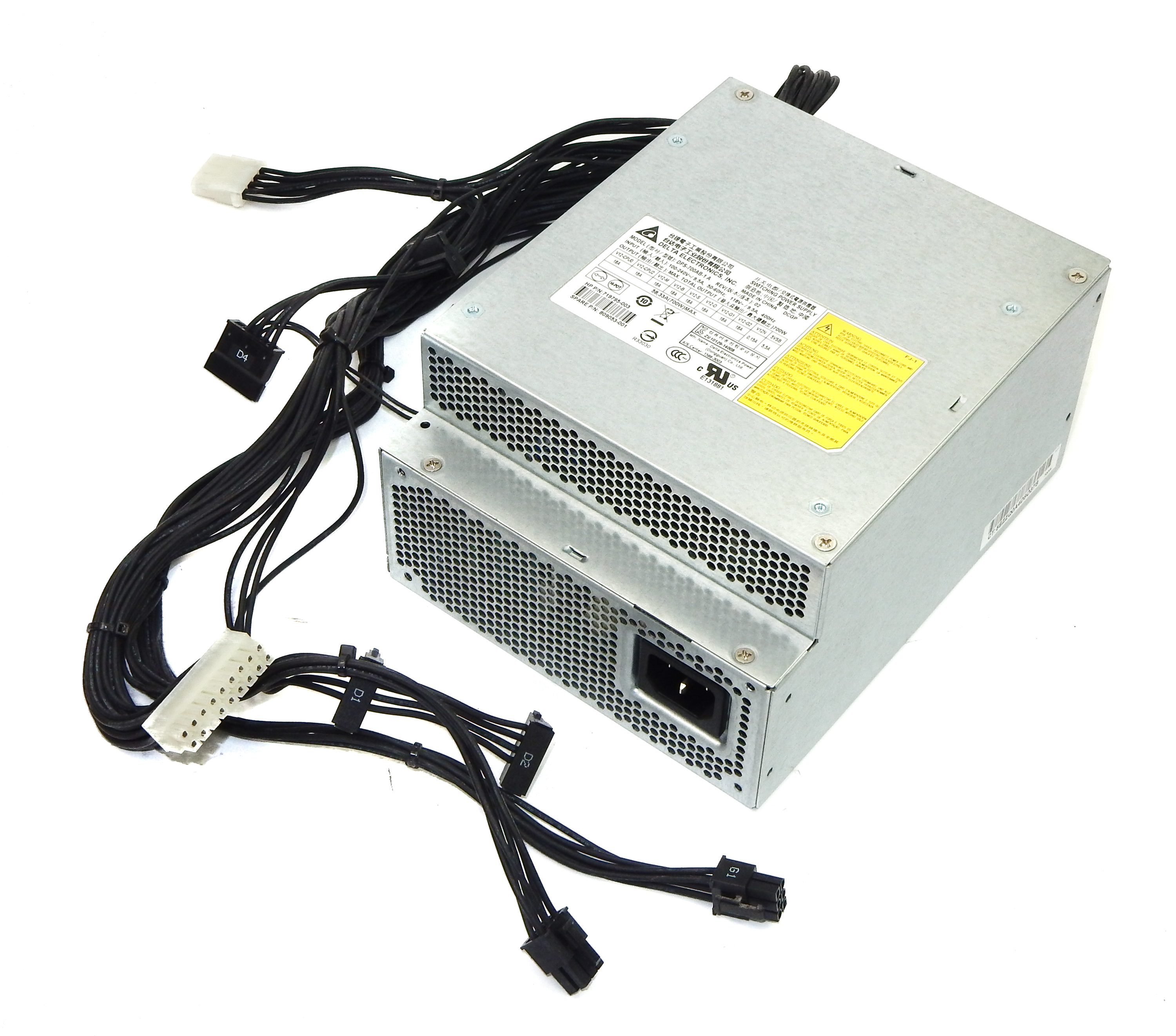 HP 809053-001 Z440 Workstation 700W Power Supply PSU Delta DPS-700AB-1