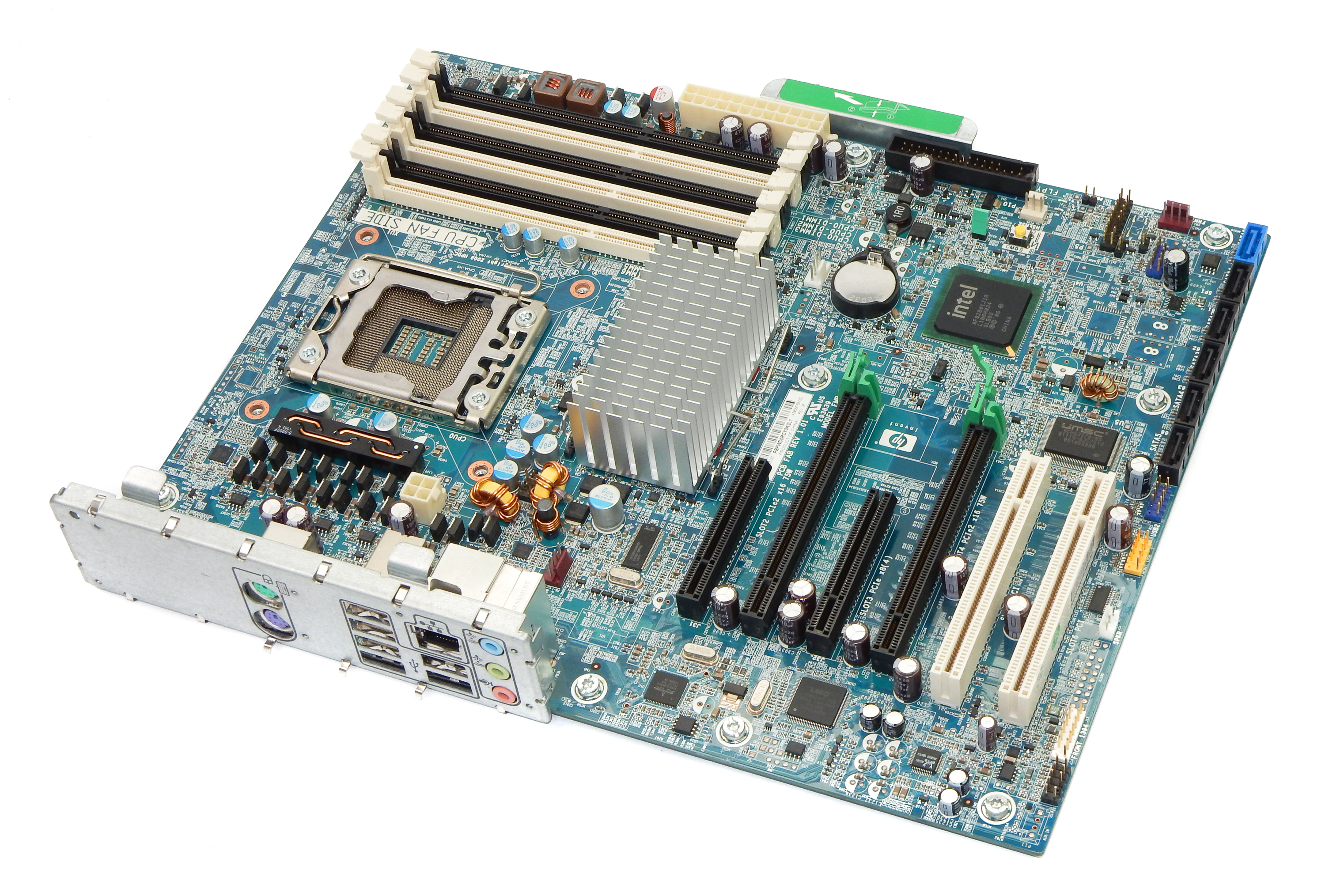 HP 586968-001 Z400 Workstation LGA1366 Motherboard /w Tray