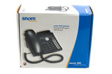 Snom 300 VOIP PoE Desk Phone - Black - RoHS AC Included