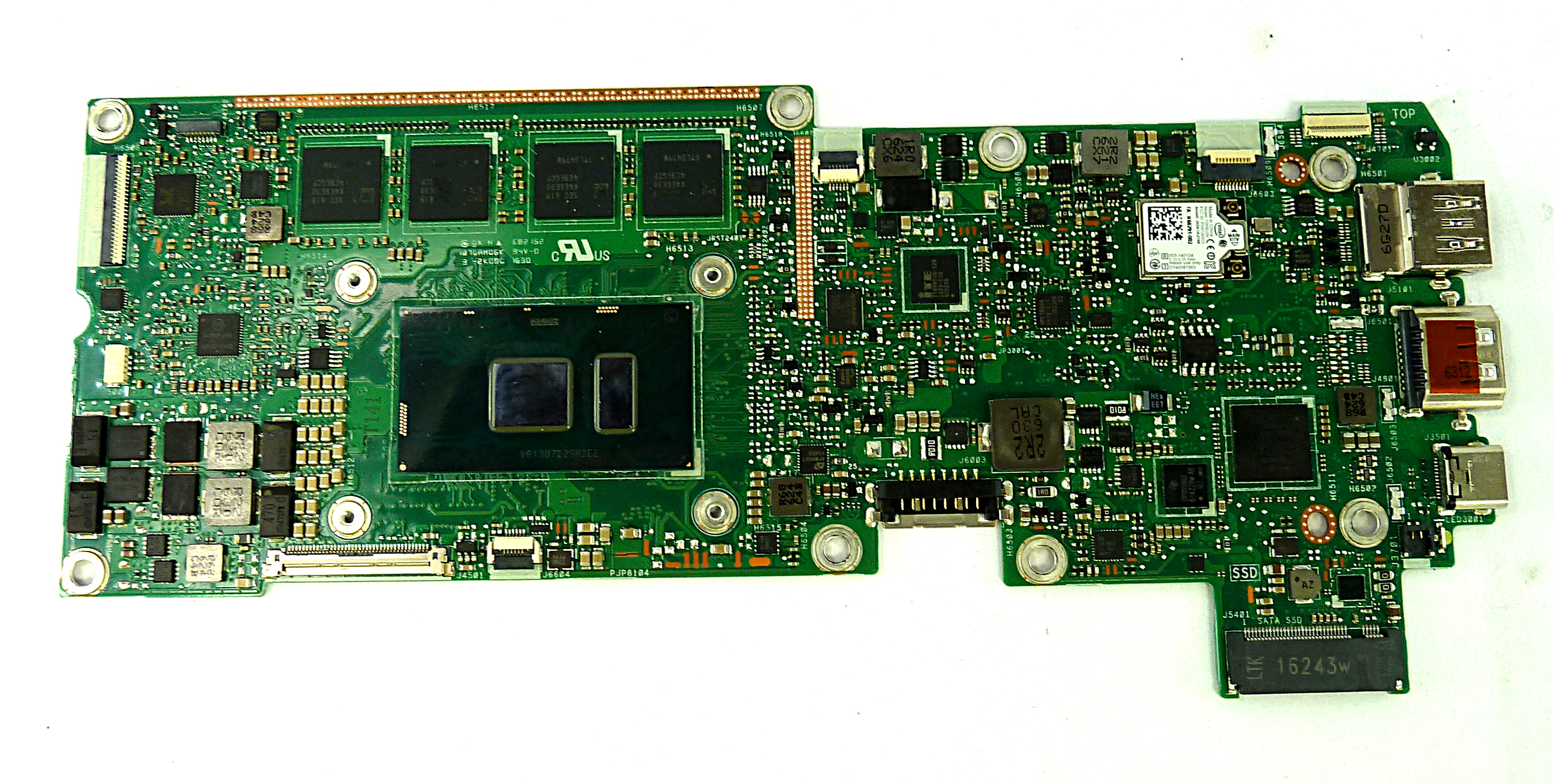 Asus Transformer Book 3 - T303UA  i7-6500U/8GB RAM Main Board- 60NB0C60-MB5140