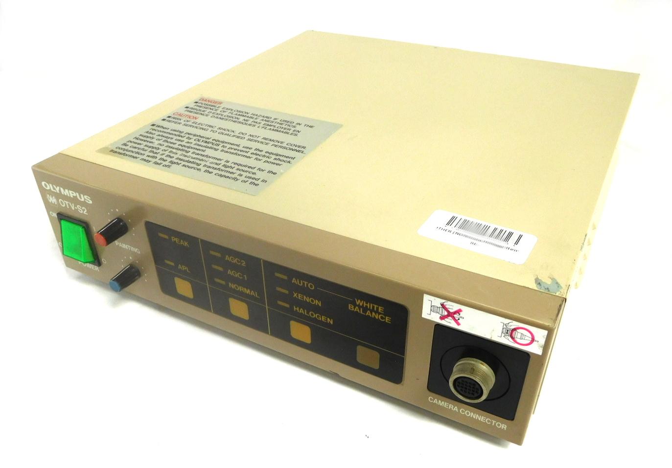 Olympus OTV-S2 endoscopy camera control unit OES TV system