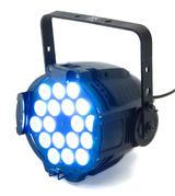 LEDJ Alu Tri Par 64 Black RGBW 18 LED Disco Party Bar Lighting Effect Light