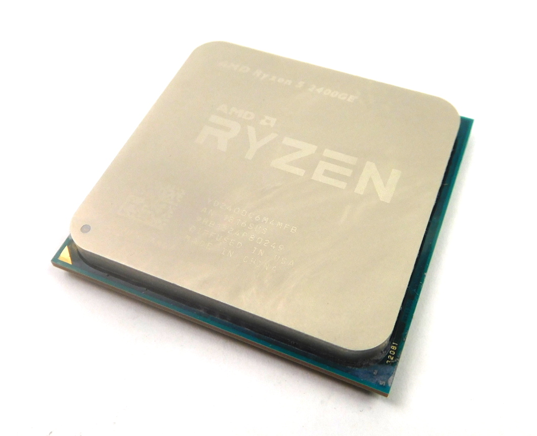 AMD Ryzen 5 2400GE YD2400C6M4MFB Socket AM4 Quad-Core 3.2GHz (3.8GHz) CPU