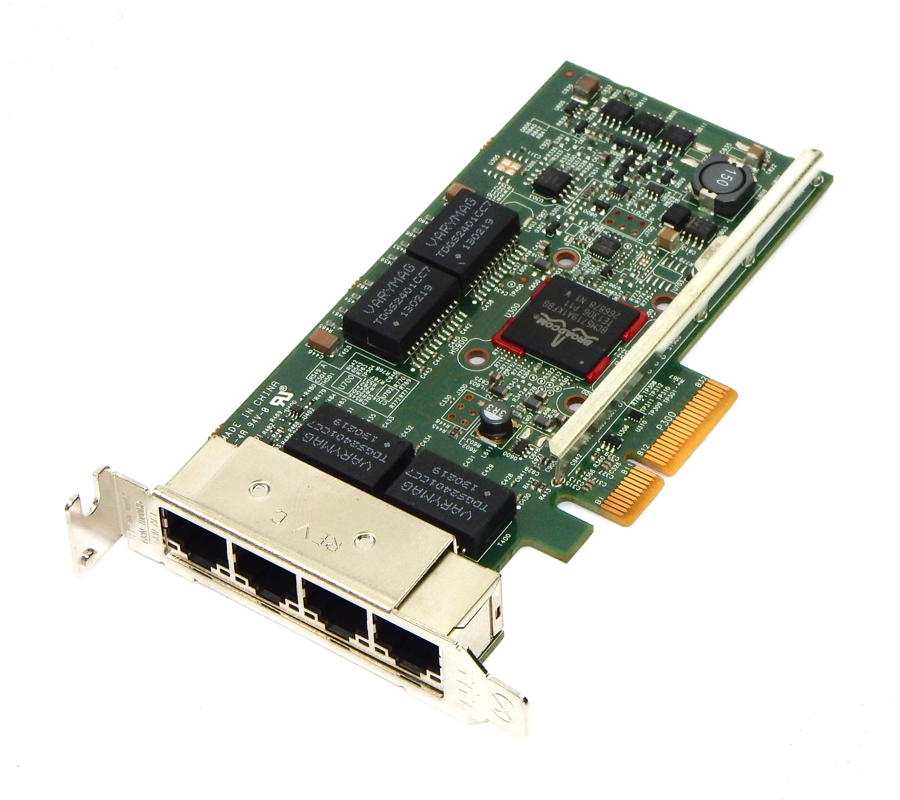 Dell TMGR6 Broadcom BCM5719 4 Port Gigabit Ethernet Card / Low Profile
