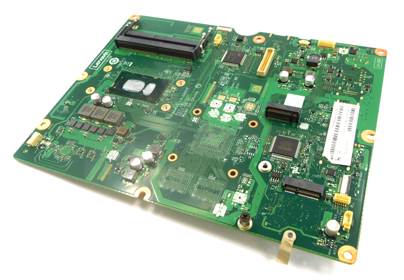 01LM514 Lenovo ideacentre AiO PC 520-22IKU Motherboard /w BGA Core i3-7020U CPU