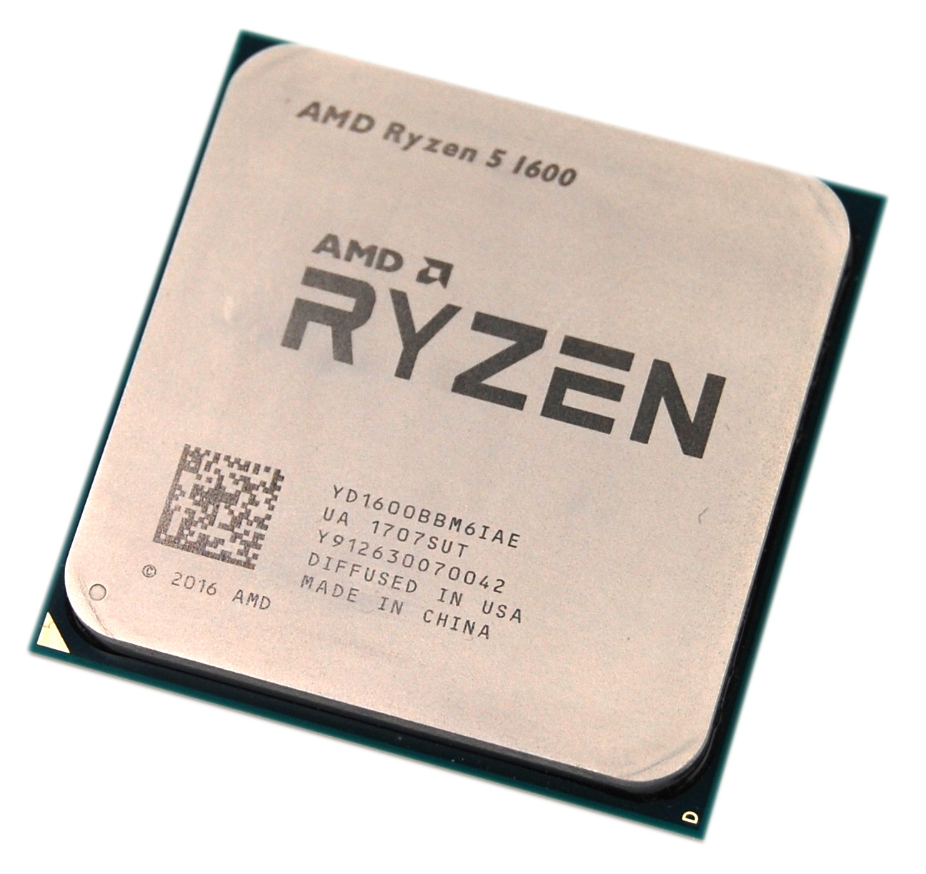 AMD YD1600BBM6IAE Ryzen 5 1600 3.2GHz Hexa-Core Socket AM4 Processor
