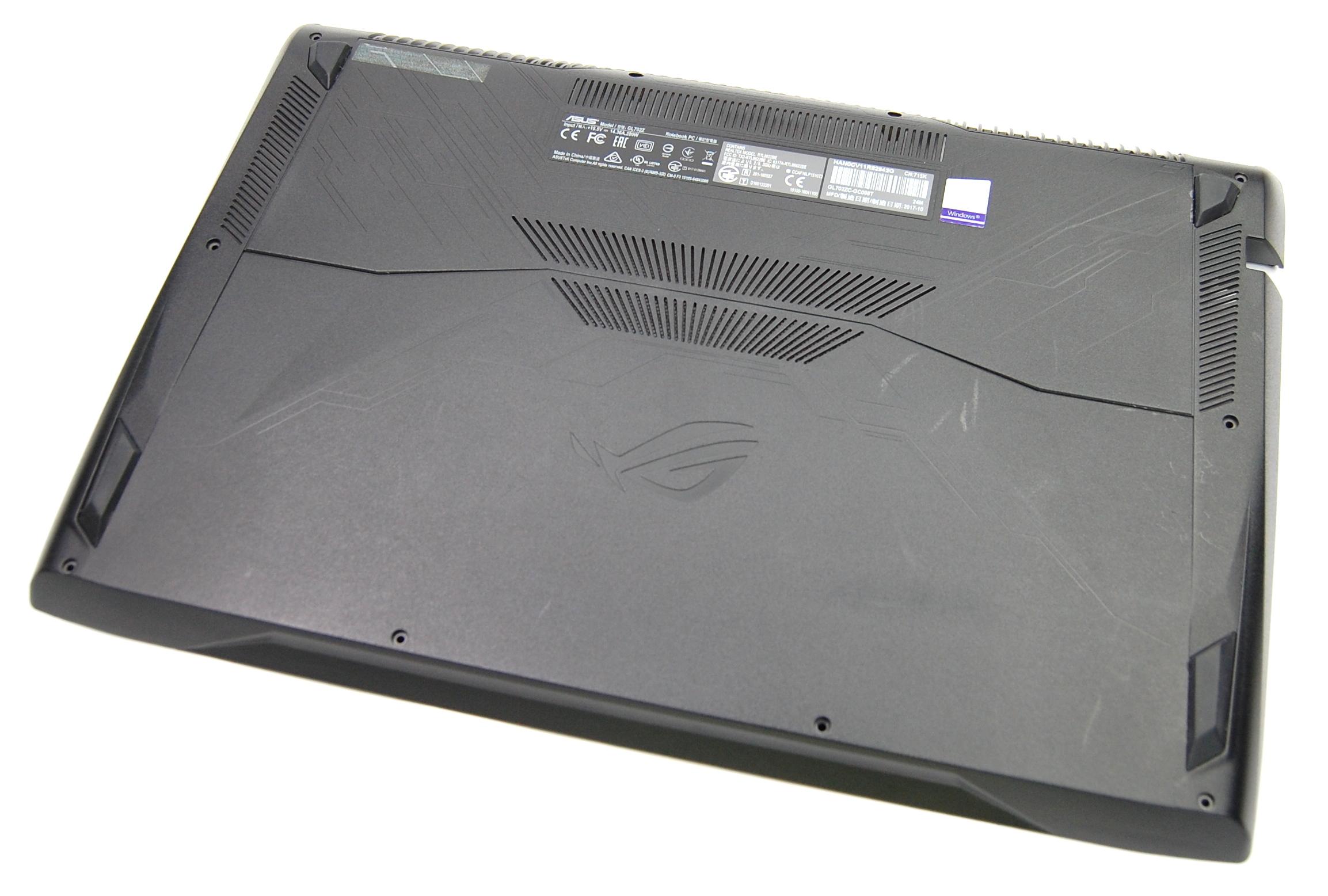 13NB0FV0AP0101 Asus GL702Z UK Bottom Chassis Case
