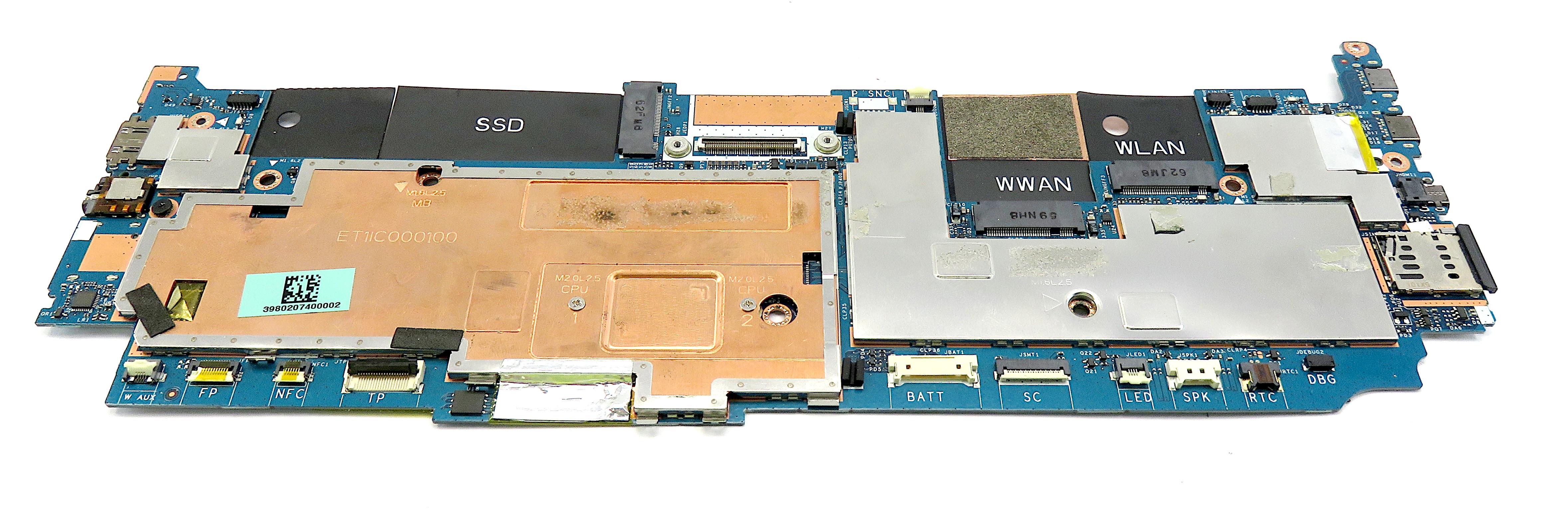 Dell 9RTYR Latitude 7370 with Intel Core m5-6Y57 Laptop Motheroard