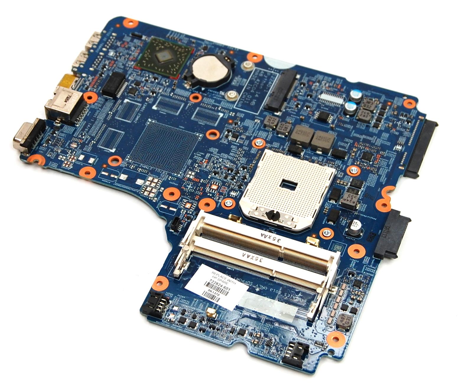 HP 722824-601 ProBook 455 G1 AMD Socket FS1 Laptop Motherboard