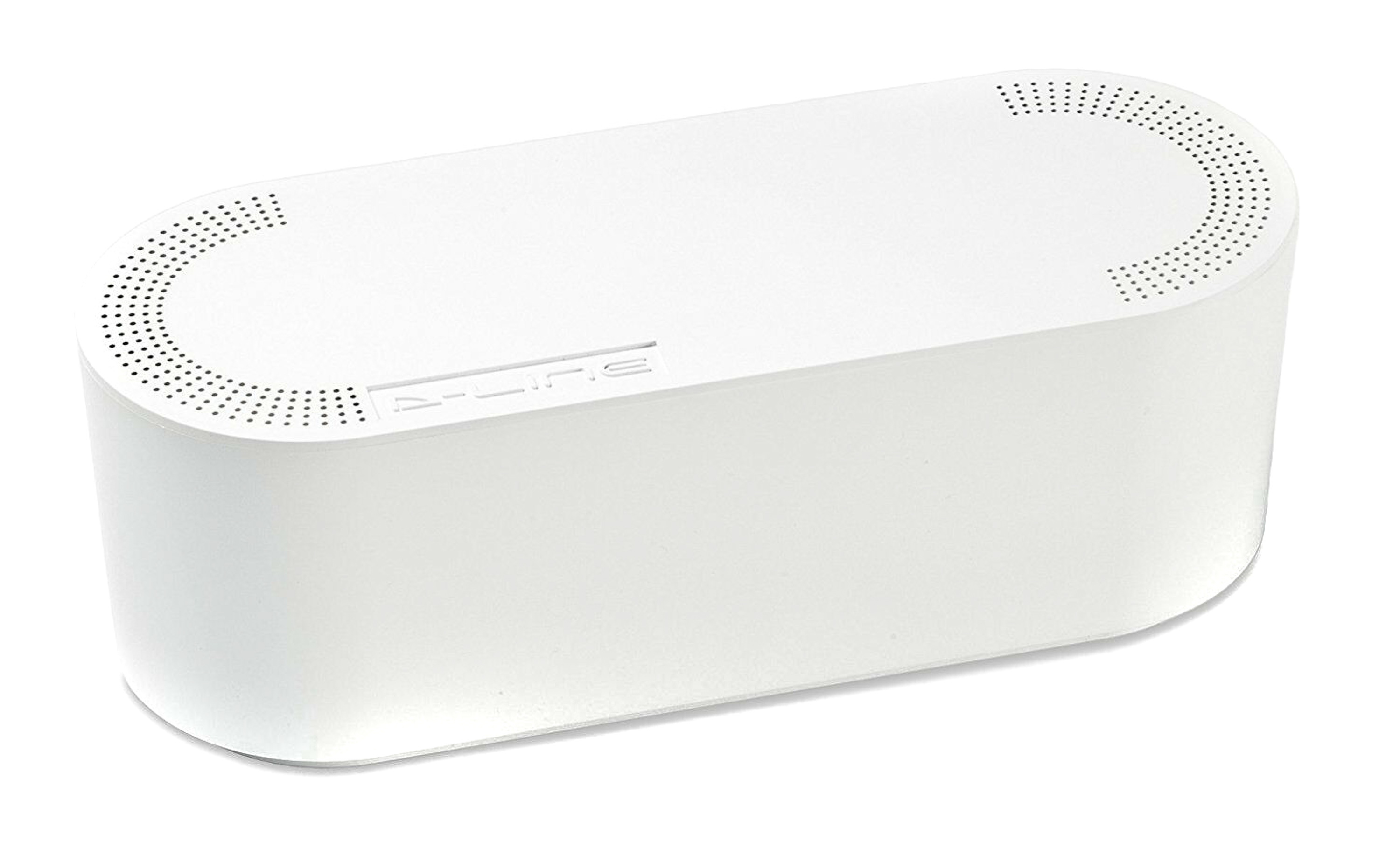 x6 D-Line Small Cable Tidy Units In White