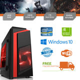 Cheap Gaming PC Intel Core i5 3.1GHz Windows 10 GTX1650 16GB RAM 128GB SSD 1TB