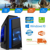 Cheap Gaming PC Intel Core i7 3.4GHz Windows 10 GTX1650 16GB RAM 128GB SSD 1TB