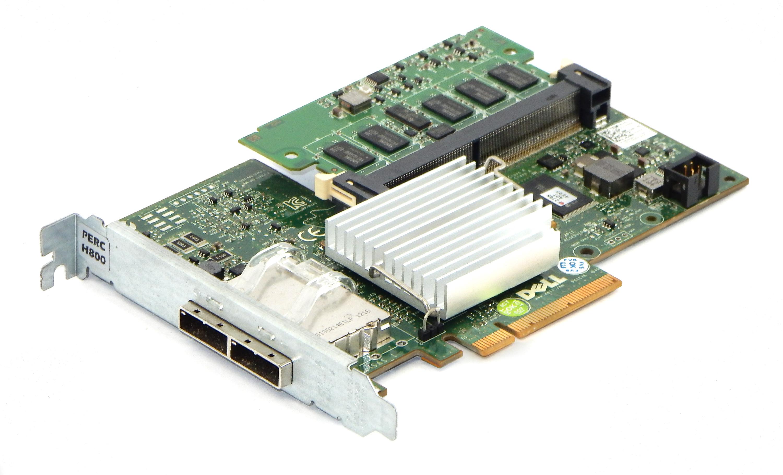 Dell D90PG Perc H800 6Gb/s 512MB SAS Sata Raid Controller