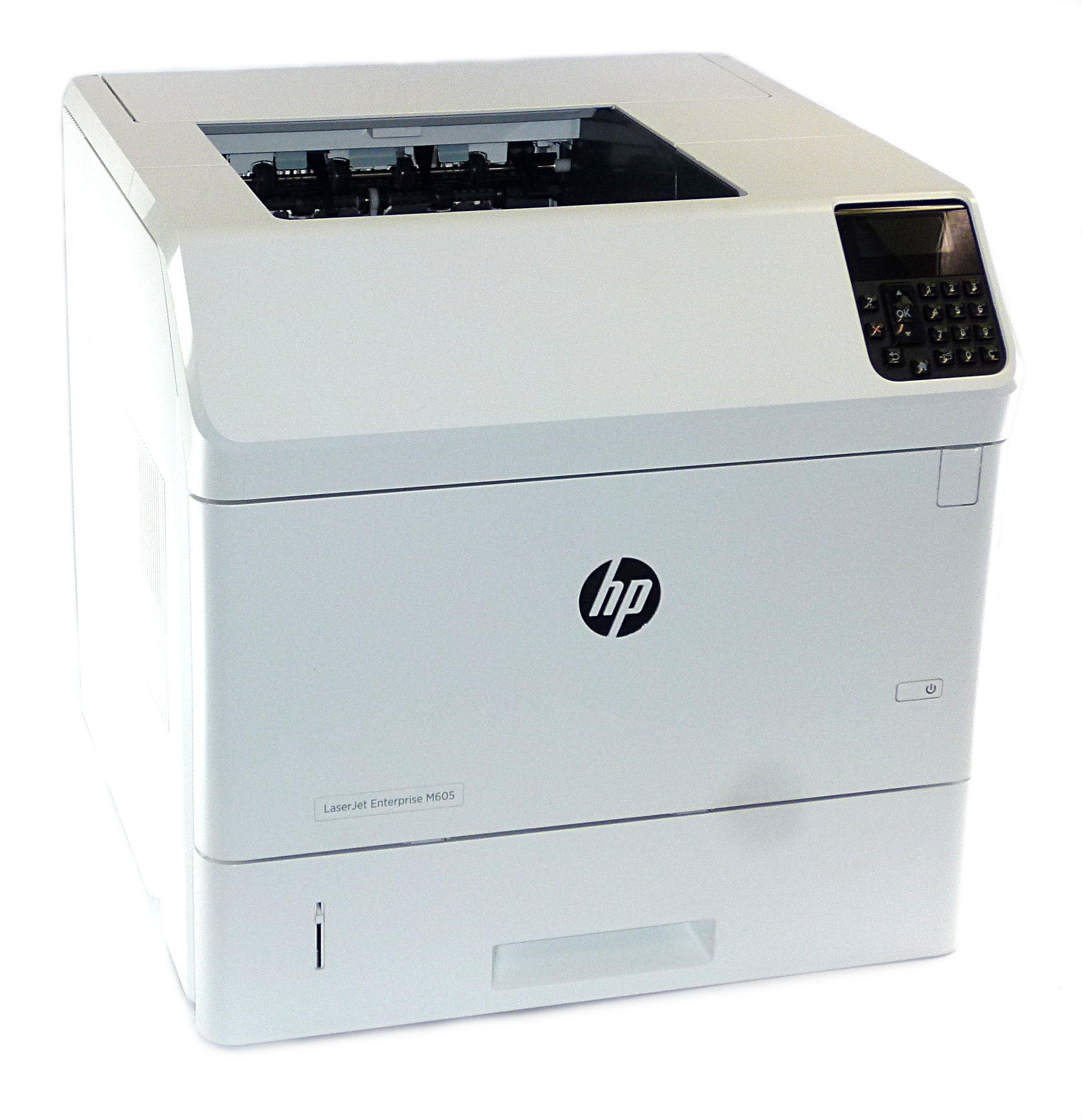 HP E6B69A LaserJet Enterprise M605 Network Laser Printer