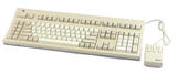NEW Vintage Sun 3201073-01 Type 5 Unix Keyboard & Mouse