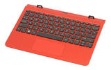 HP X2 10-P Detachable Keyboard In Red
