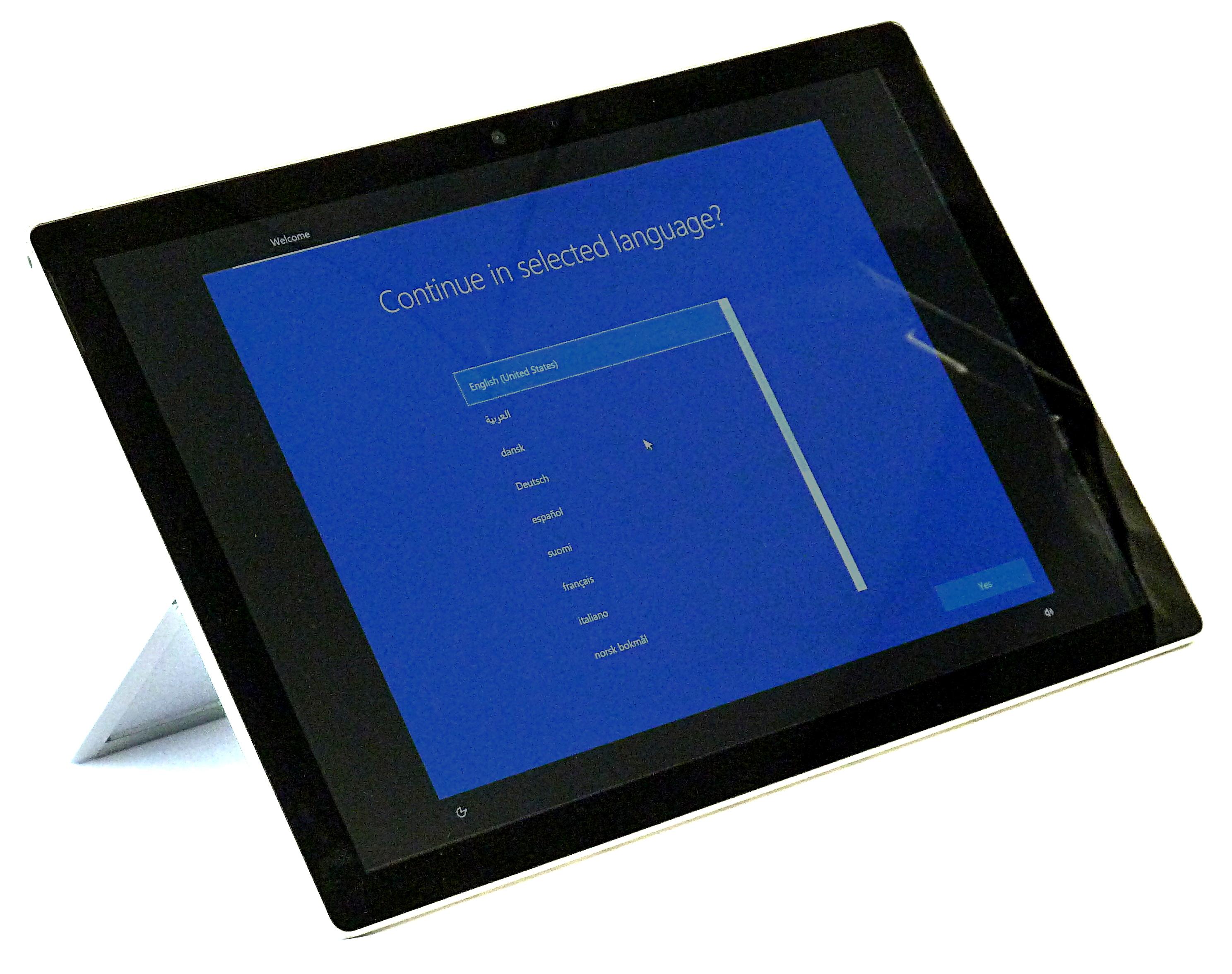 Microsoft Surface Pro 5 Tablet PC Model - 1796 / i5-7300U / 8GB RAM / 256GB  SSD