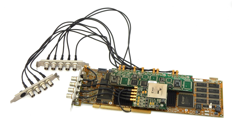 DVS HDIO1-12 HD Video PCI Capture Board HDIO1.0 Rev4