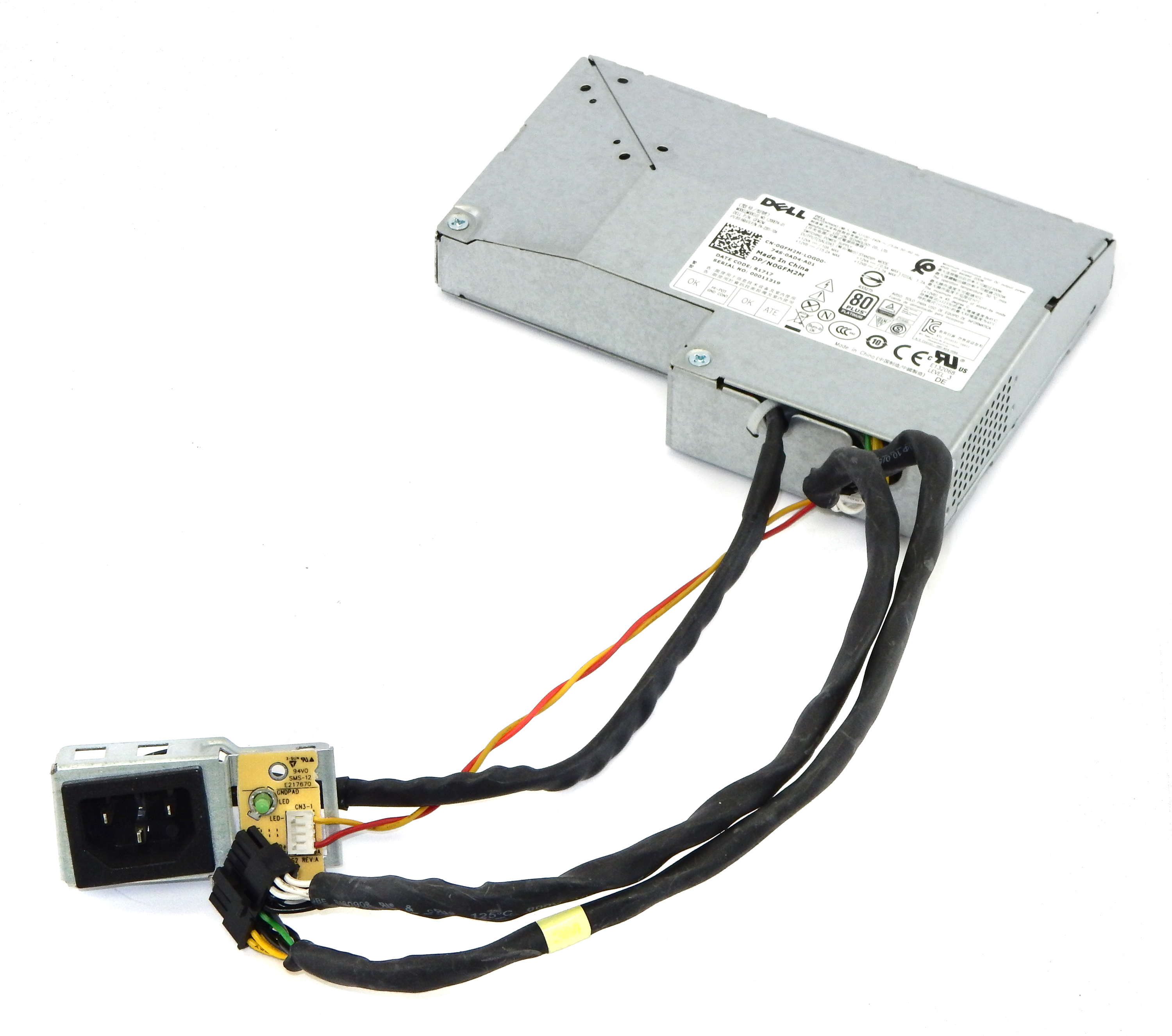 Dell GFM2M OptiPlex 7450 AIO 200W Power Supply L200EPA-01