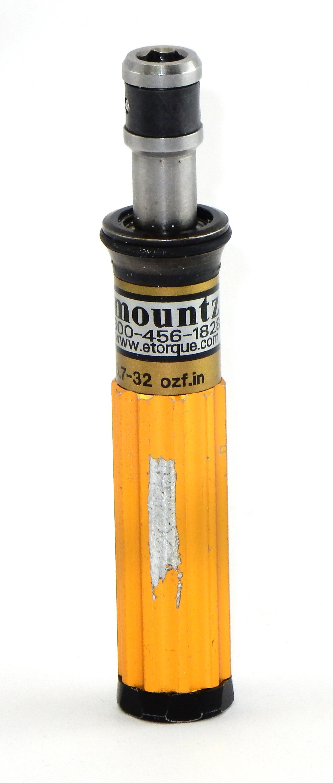 """Mountz 800-456-1828 0.7-32 1/4"""" Adjustable Torque Driver"""