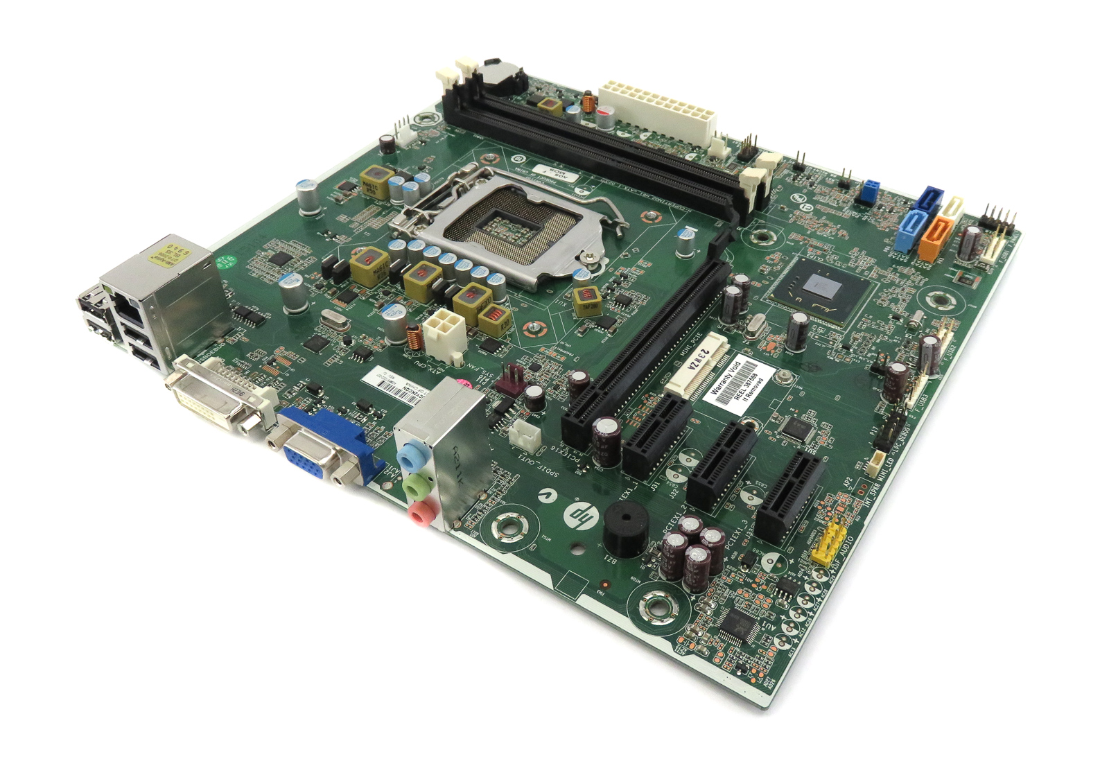 HP Pro 657002-001 Intel Socket LGA1155 Motherboard - H-CUPERTINO2_H61_uATX: 1.02