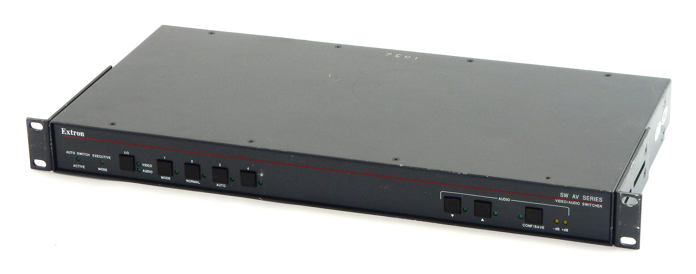 Extron SW 4AV RCA Four Input Composite Video & Stereo Audio Switcher