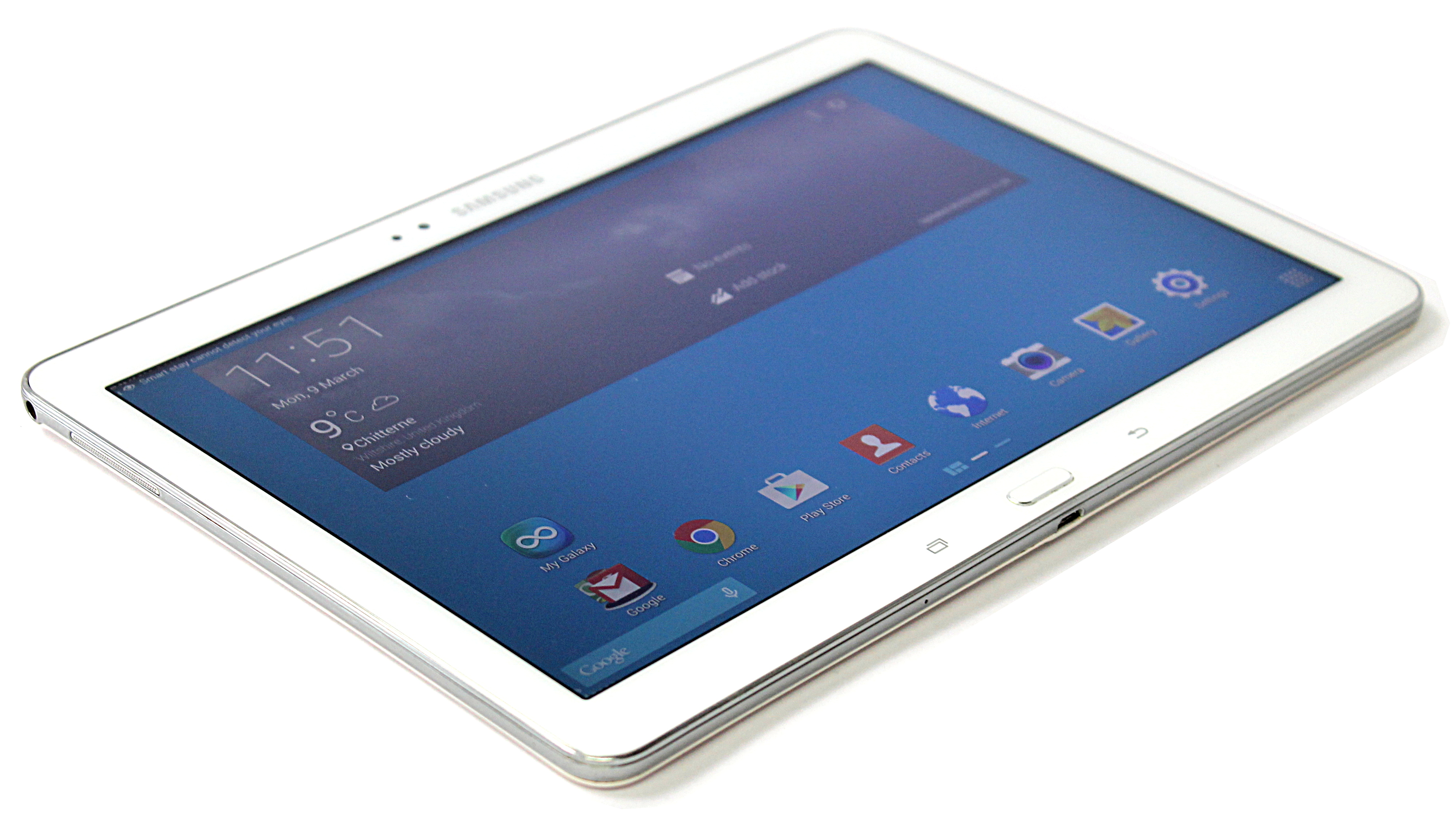 "Samsung Galaxy Tab Pro - 10.1"" SM-T520 - 16GB WiFi White Used"