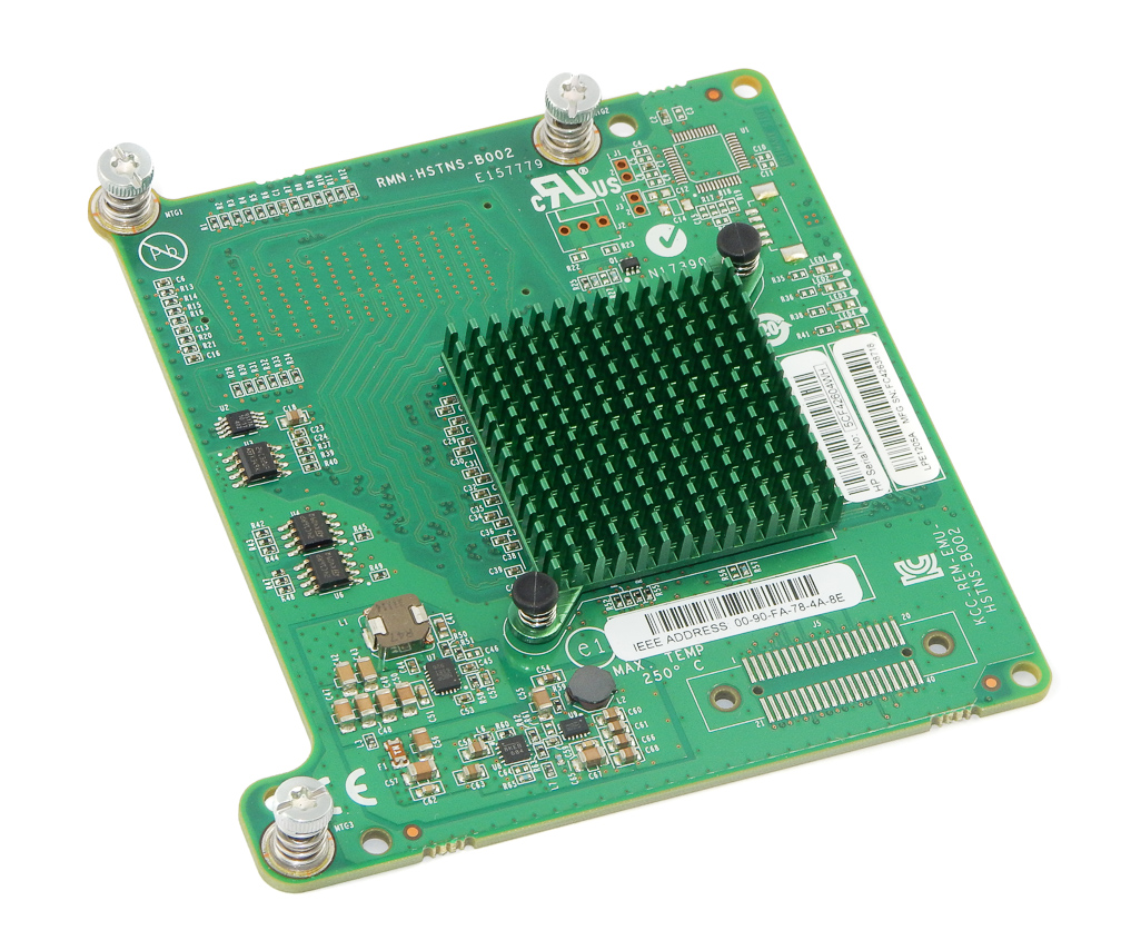 HP 662538-001 8GB LPe1205A FC PCI-e HBA Card f/ BL460c Gen8 Blades