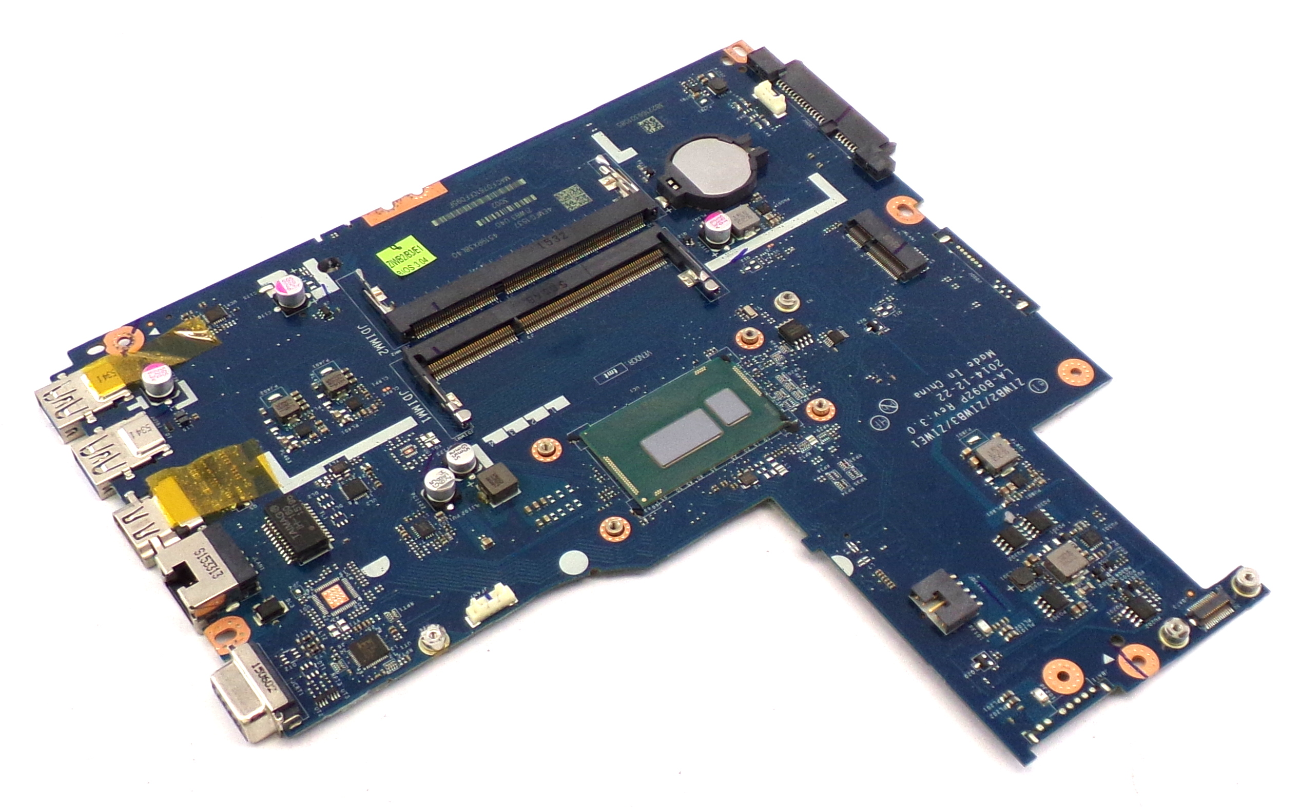 5B20G06423 Lenovo B50-30 Series with Intel Core i3-4005U Laptop Motherboard