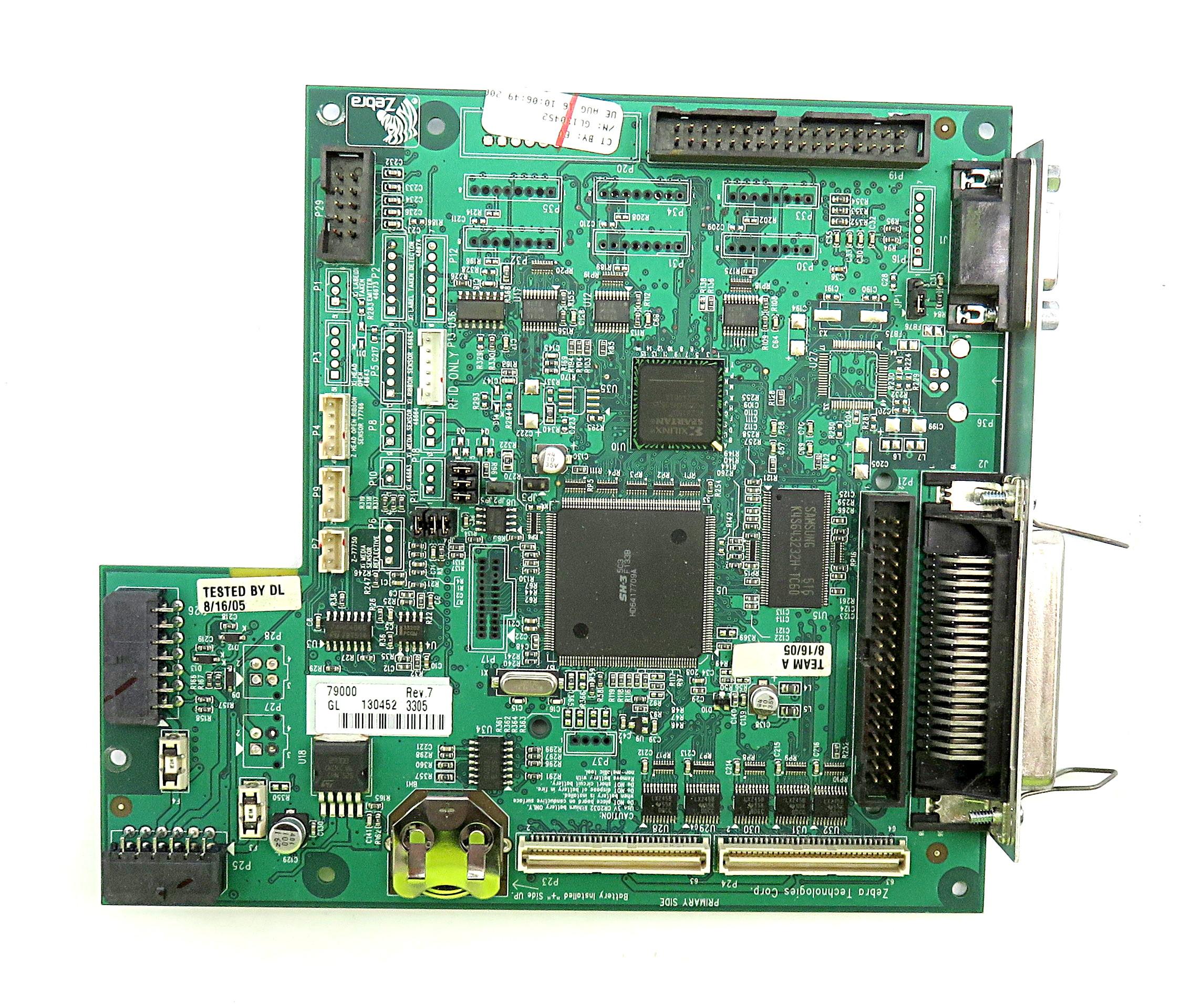 Zebra Z4Mplus Thermal Label Printer Main Logic Board 79000 Rev.7