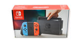 Nintendo Switch with Joycons Brown & Red - w/ Dock, Charger and Comfort Grip