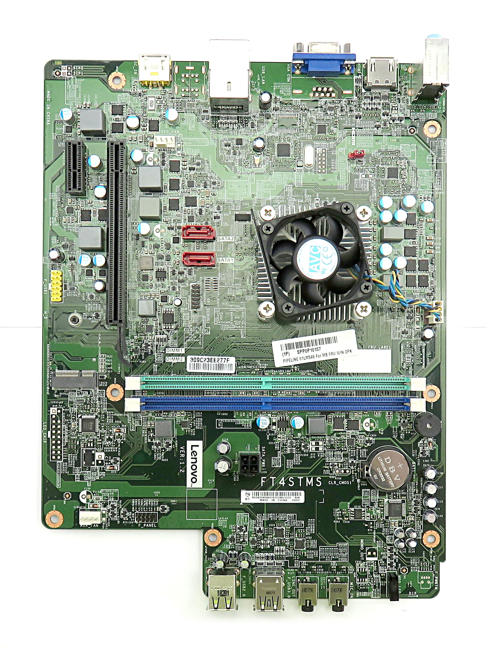 Lenovo 01LM546 FT45TMS Motherboard w/ AMD A9-9425 APU f/ ideacentre 310S-08ASR