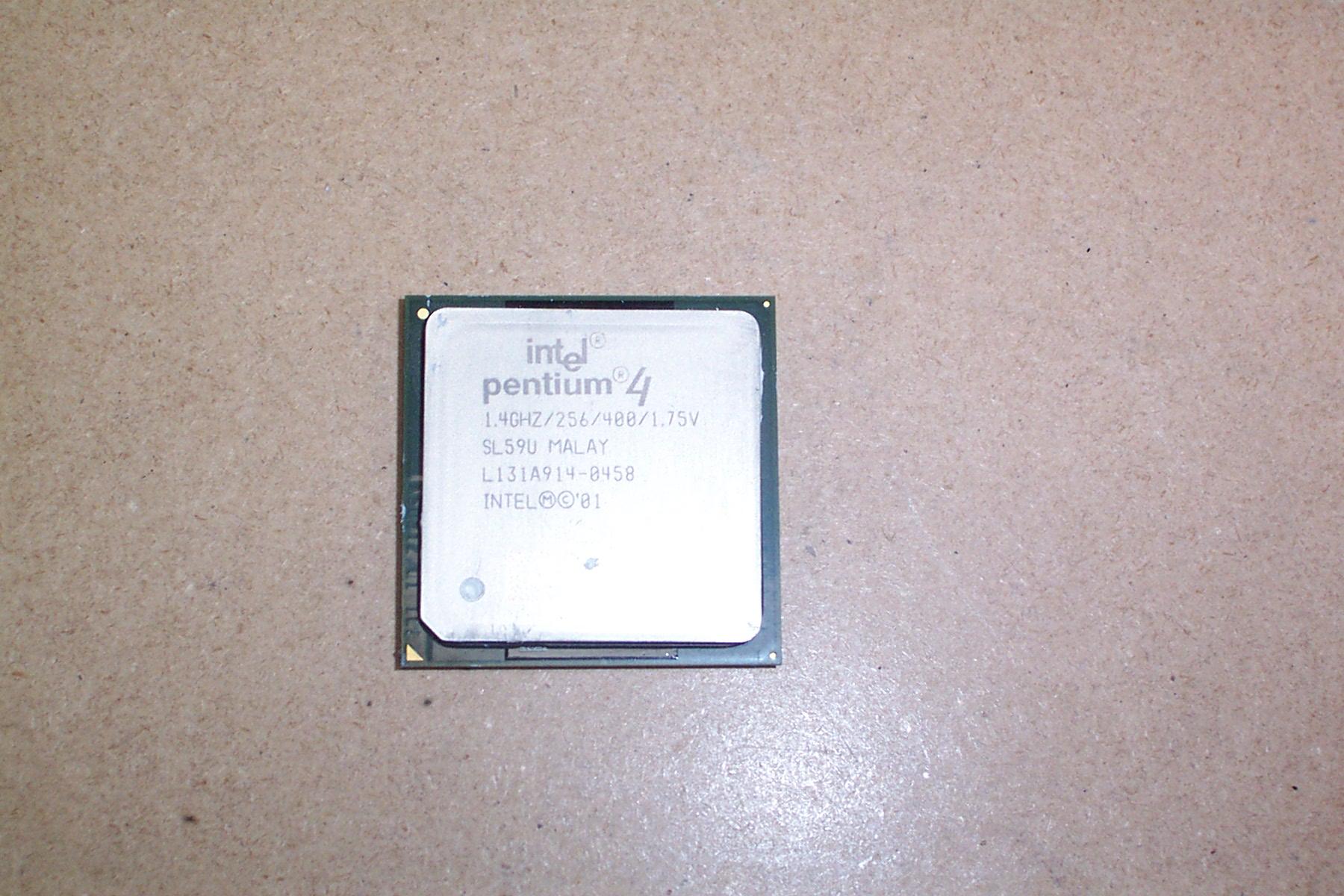 Intel SL59U Pentium 4 1.4GHz Socket 478 Processor