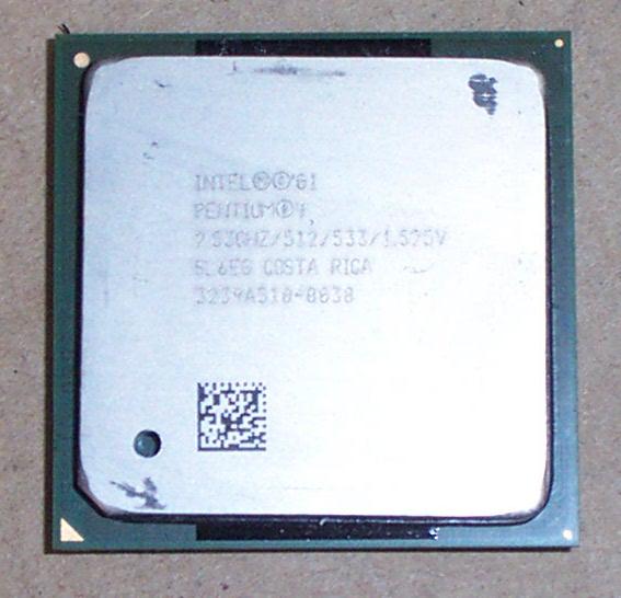 Intel SL6EG Pentium 4 2.53GHz Socket 478 Processor