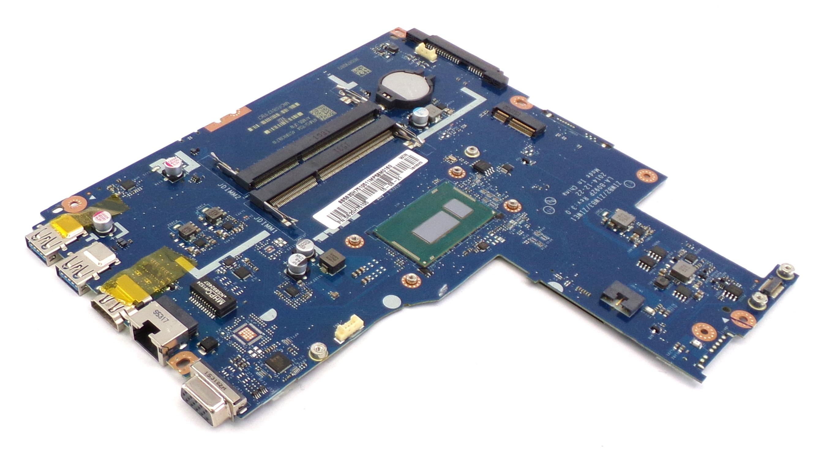 5B20H75105 Lenovo B50-80 with Intel Core i3-4005U Laptop Motherboard
