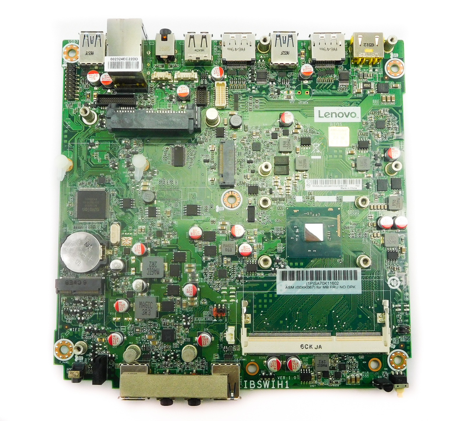 Lenovo 00XK067 ThinkCentre M600 Micro PC Motherboard IBSWIH1 /w Intel N3010 CPU