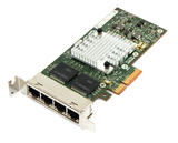 HP 593743-001 PCI-e 4 Quad Port Gigabit Ethernet Adapter NC365T Low Profile