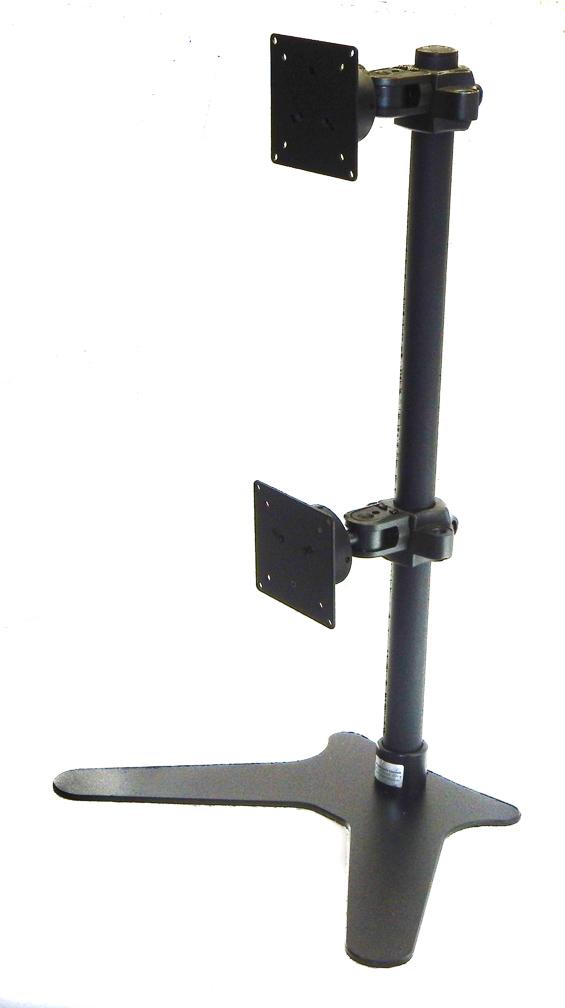 ErgoMounts VisionPro 300 EMVP321 Dual Monitor Vertical Desk Mount