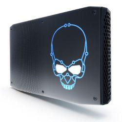 Intel NUC Hades Canyon i7 Gaming Barebone, i7-8705G, 2 x M.2, RX Vega M GL Graphics, Wi-Fi, USB Type C Gen2, VESA, RGB Skull - No RAM/SSD/OS