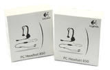 2x Logitech A-00013 PC Headset 850