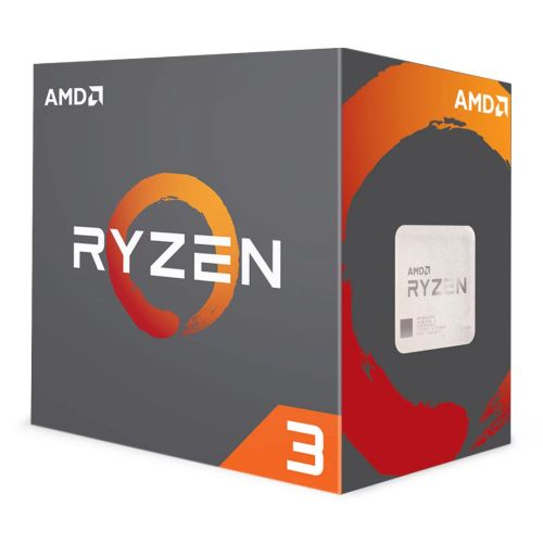 AMD Ryzen 3 1200 CPU with Wraith Cooler, AM4, 3.1GHz (3.4 Turbo), Quad Core, 65W, 10MB Cache, 14nm, No Graphics, Summit Ridge