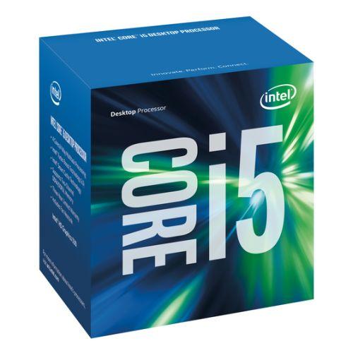 Intel Core I5-6400 CPU, 1151, 2.7 GHz, Quad Core, 65W, 14nm, 6MB Cache, HD GFX, 8 GT/s, Sky Lake