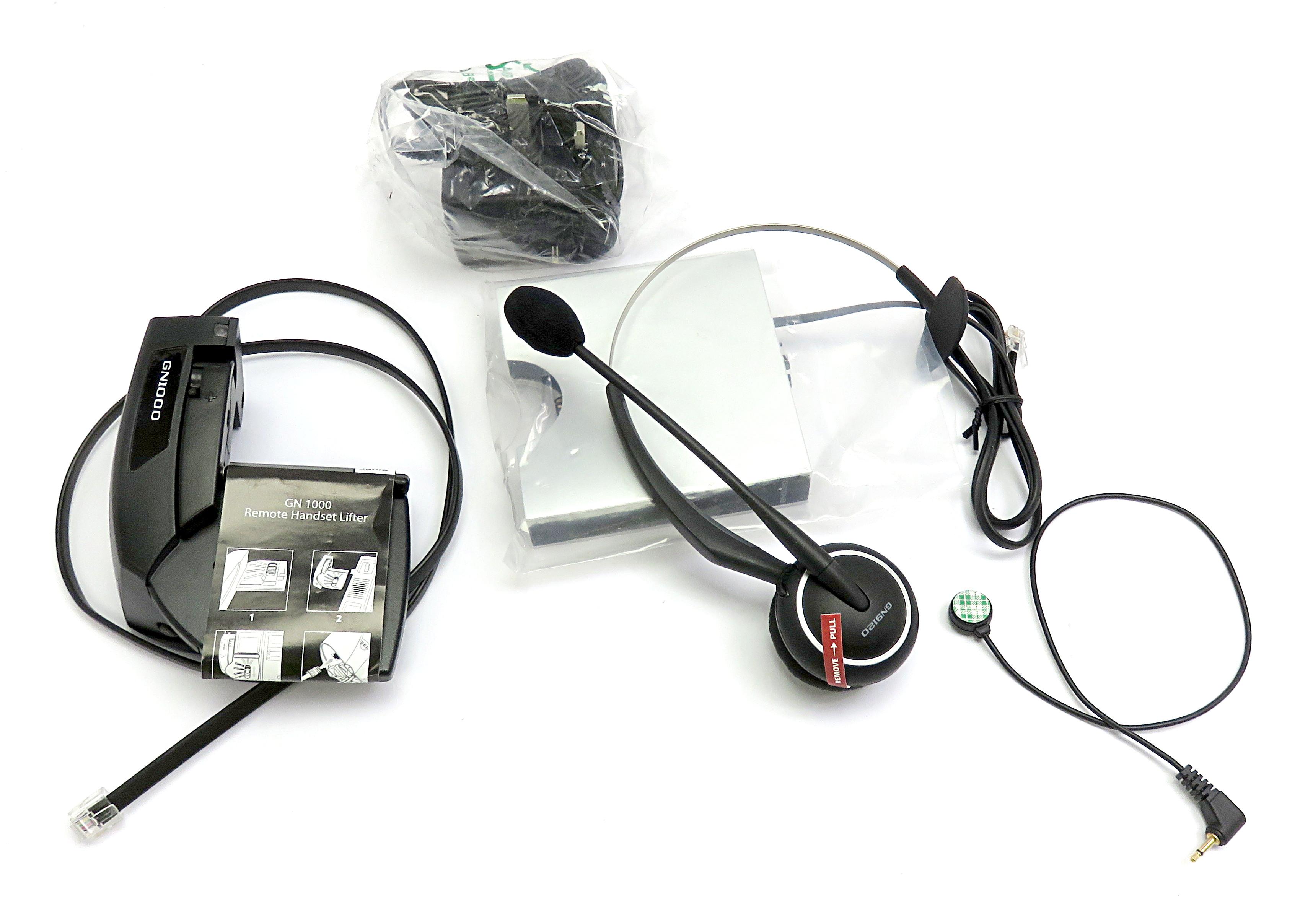 GN Netcom GB 9120 Wireless Telephony Headset System: New, No Stand