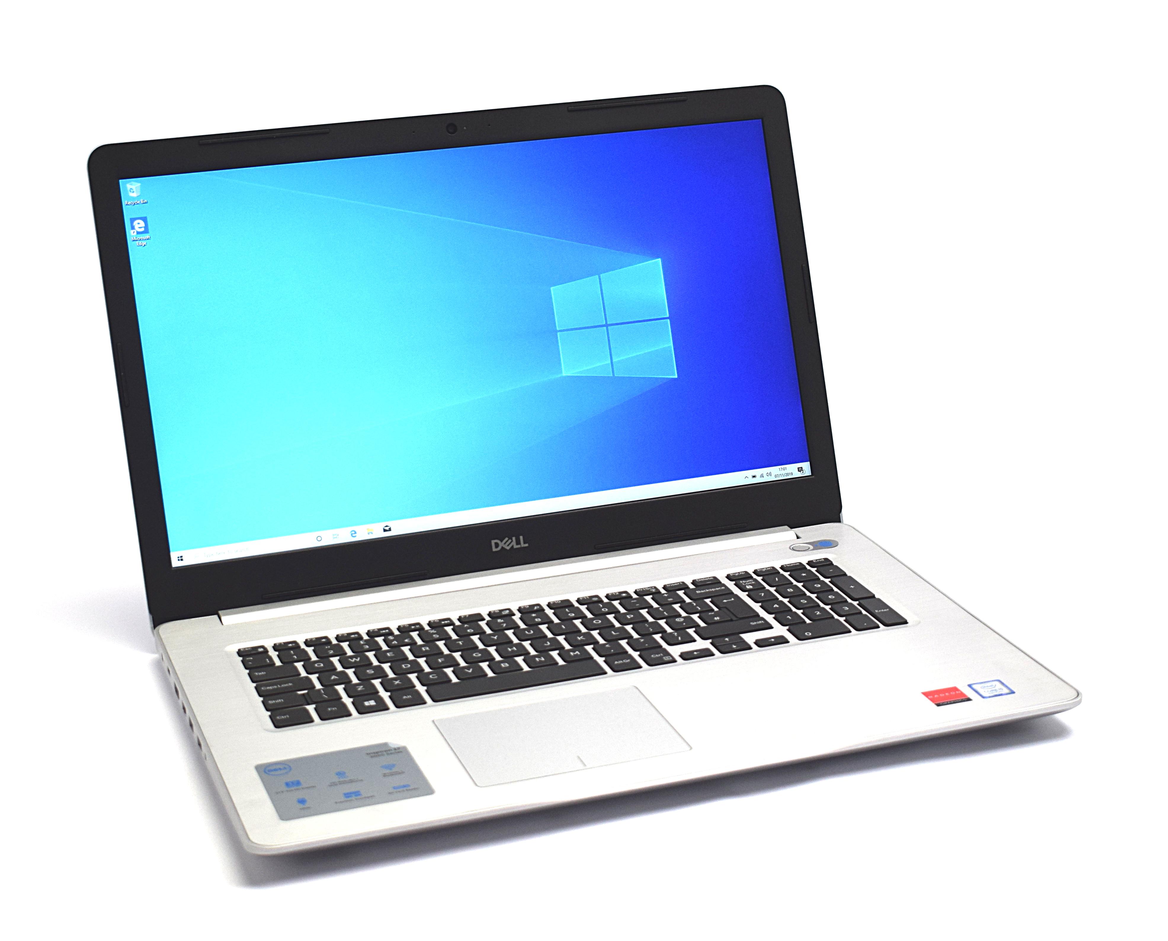 """Dell Inspiron 17 5770 Laptop Core i5-8250U 8GB RAM 128GB SSD 1TB HDD 17.3"""" Win10"""