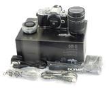 Olympus OM-D E-M10 Mark III Mirrorless Digital Camera w/ 14-42mm & 40-150mm Lens
