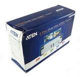 Aten CS1742 2-Port Dual-View KVMP Switch & USB Hub CS1742C-B **DAMAGED BOX**