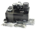 NEW Olympus OM-D E-M10 Mark III Digital Camera w/ 14-42mm & 40-150mm Lens