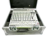 Phonic AM844D 8-Mic, 4-Stereo Line 4-Group Mixer w/ DFX in Flight Case
