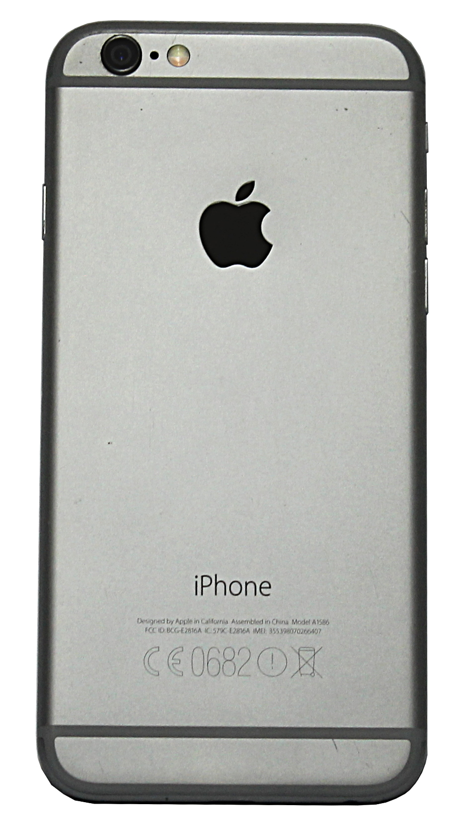Space Grey / Refurbished//Apple A1586 iPhone 6 64GB / EE ...
